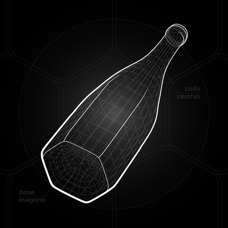 Bottiglia-disegno